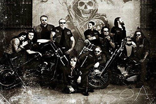 Tomorrow sunny New SONS OF ANARCHY TV series Silk wall Poste