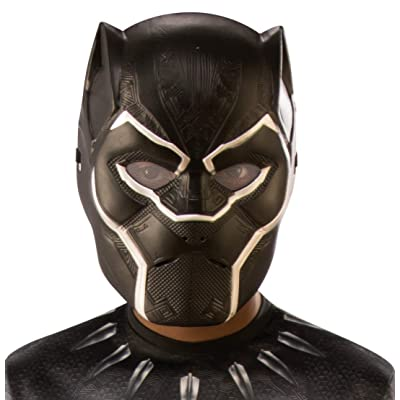 Rubie's Marvel: Avengers Endgame Child's Black Panther Half-Mask: Toys & Games
