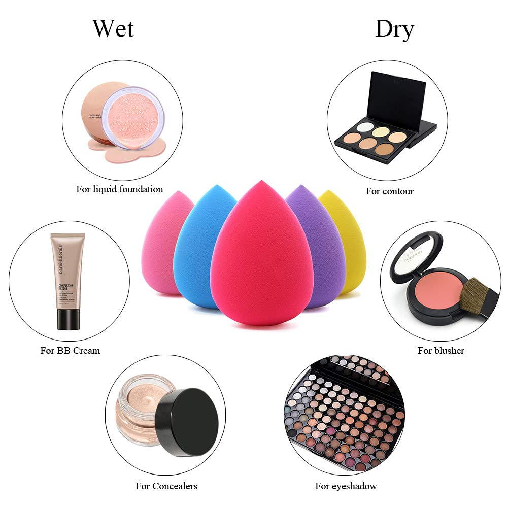 Cosmetic Puff Beauty & Health Dedicated Super Soft Pro 100% Star Silicone Jelly Sponge Makeup Puff For Liquid Foundation Bb Cream Beauty Essentials Makeup Tool Gel