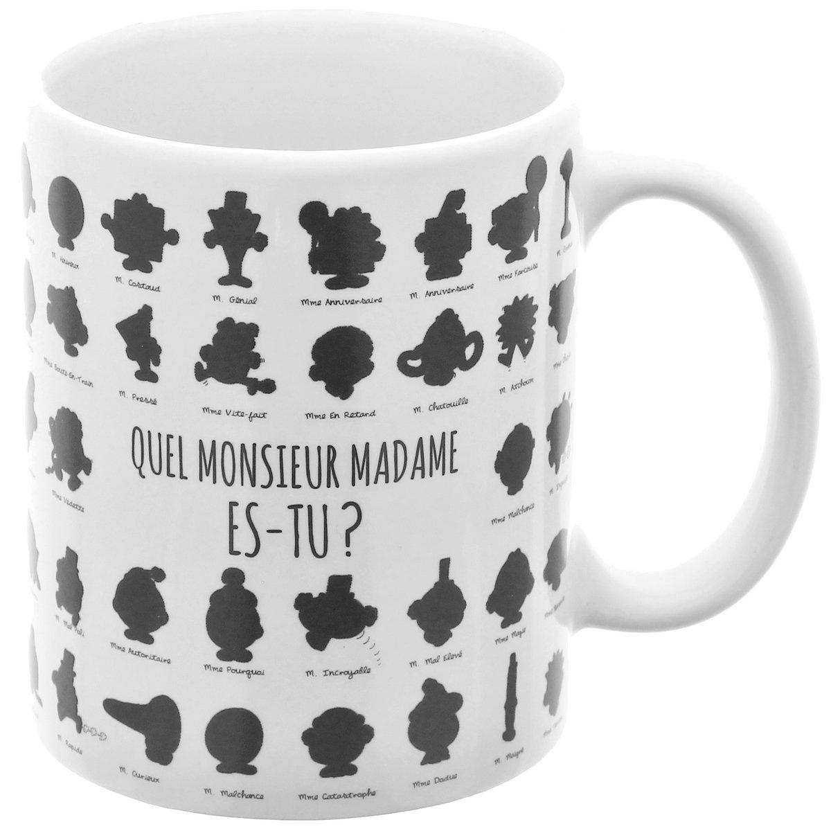 Chaleur Mug De Changement Tasse Licence Mr A Mme Et Monsieur Madame Magique Café Couleur 54jL3RAq
