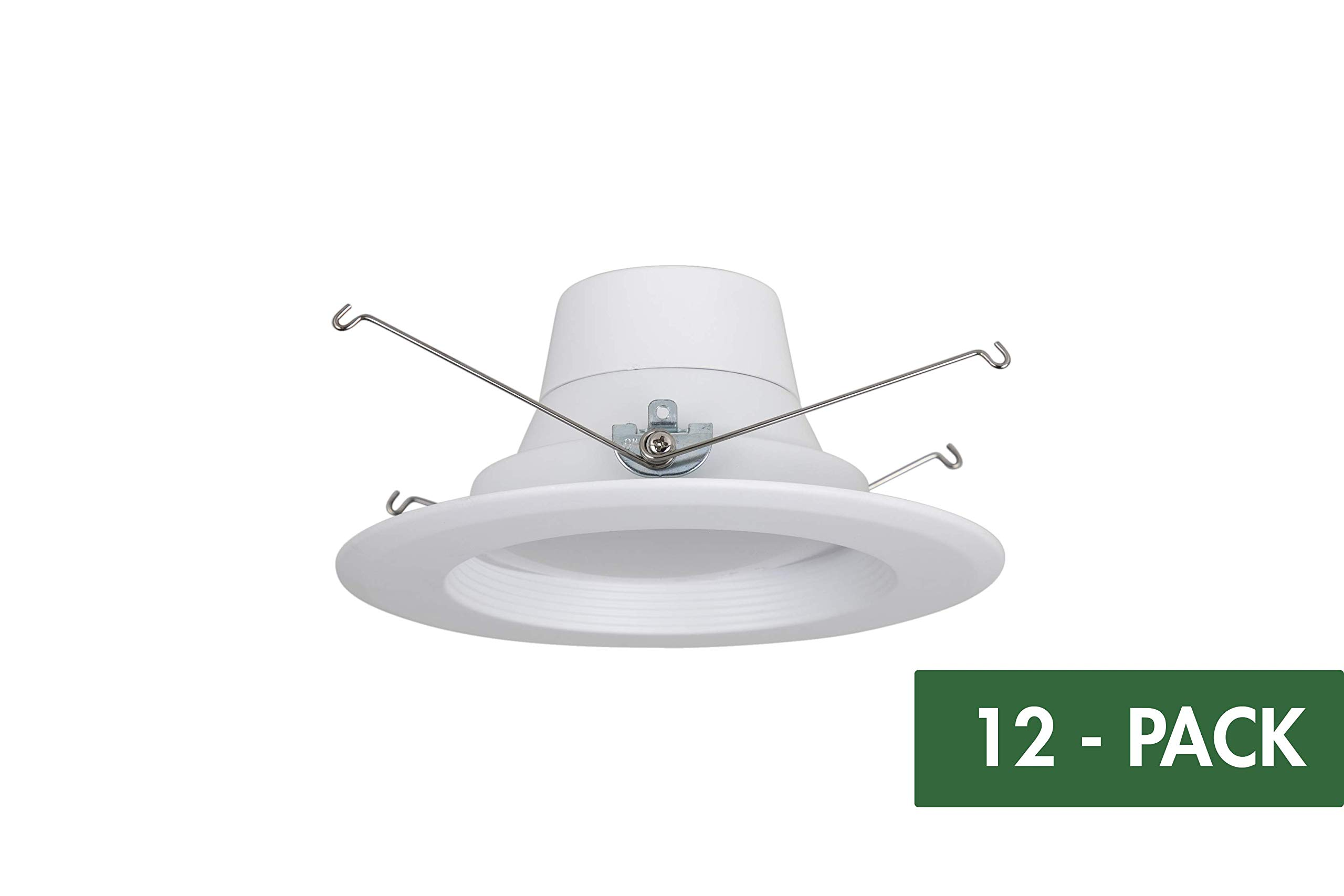 Designers Fountain RB6WH9T9027-12 5/6 inch LED Recessed Downlight, 2700K by Designers Fountain