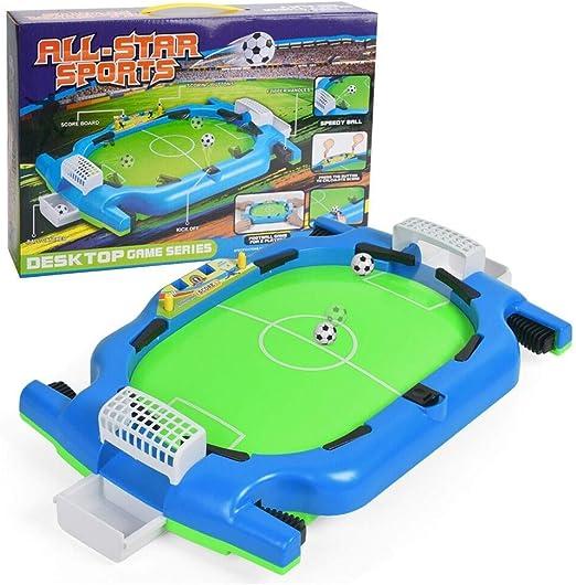 QYHSS Mini Futbolín, Campo de Fútbol Infantil Adulto, Fútbol, 12 ...