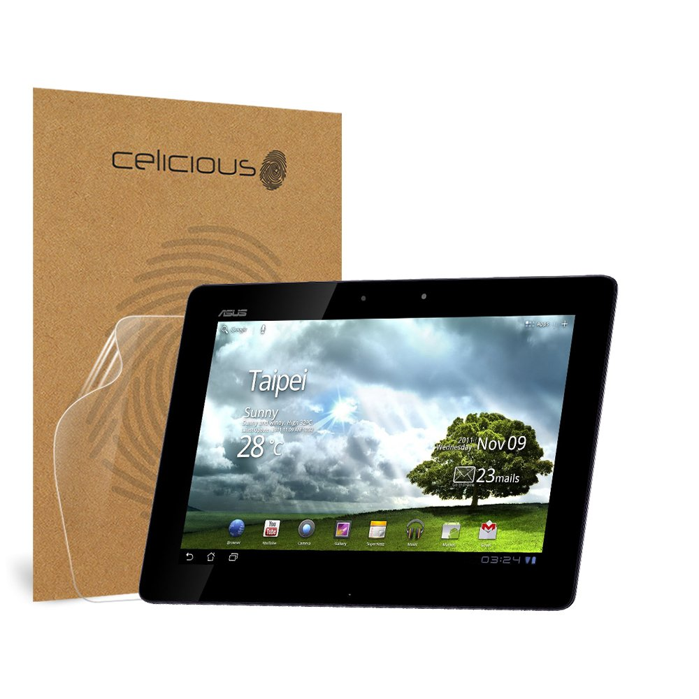 Celicious Impact Anti-Shock Shatterproof Screen Protector Film Compatible with Asus Eee Pad Transformer Prime TF201 by Celicious