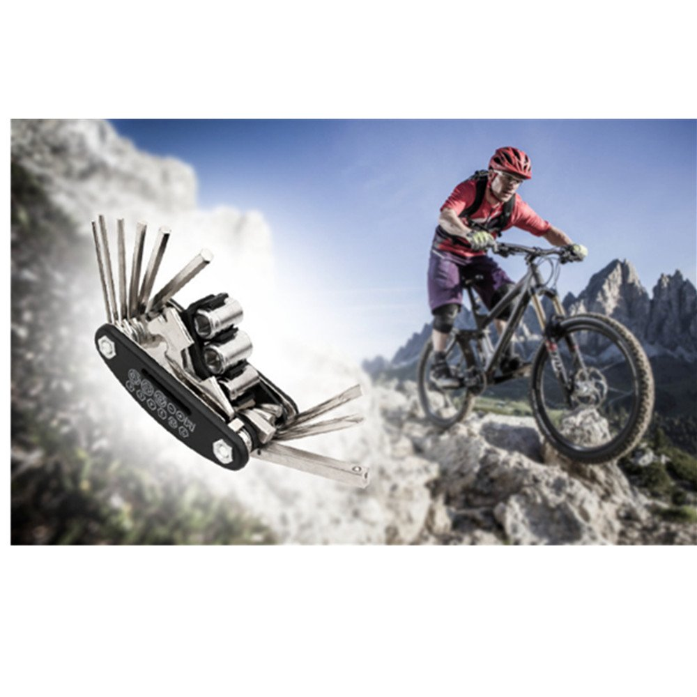 A menudo bicicleta Reparación Set Neumáticos Flickzeug bicicleta Herramientas de reparación de neumáticos Juego de herramientas con funda: Amazon.es: Hogar