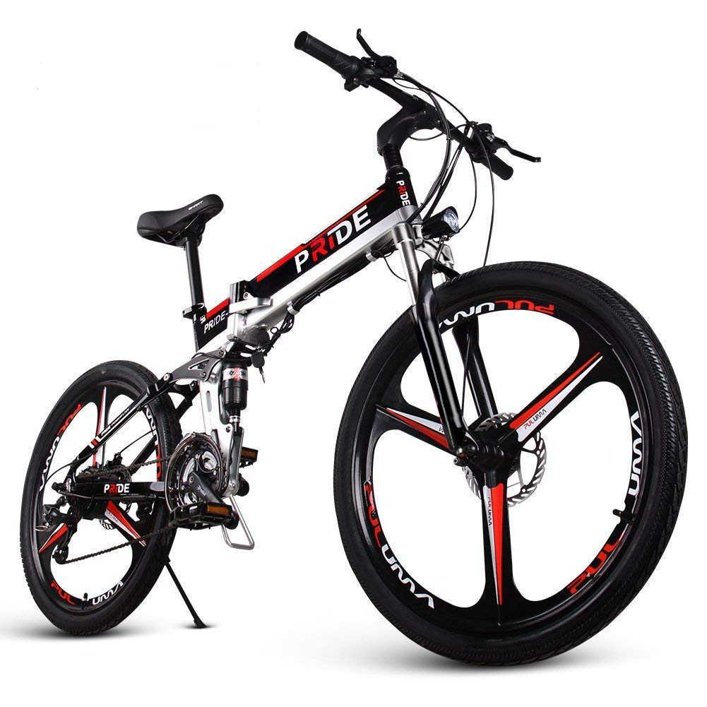d13929288e7 ENGWE Folding Full Suspension Electric Bike with 26