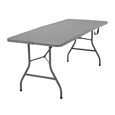 COSCO Signature Centerfold Table, Gray