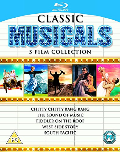 Classic Musicals - 5 Film Collection [Blu-ray] [1958] [Region Free] by