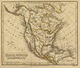 1832 School Atlas | North America. H. Morse Sc. Published by Lincoln & Edmands, Boston. (1832) | Antique Vintage Map Reprint
