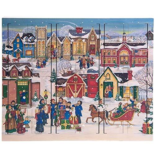 (Byers' Choice Christmas Village Advent Calendar #AC21)