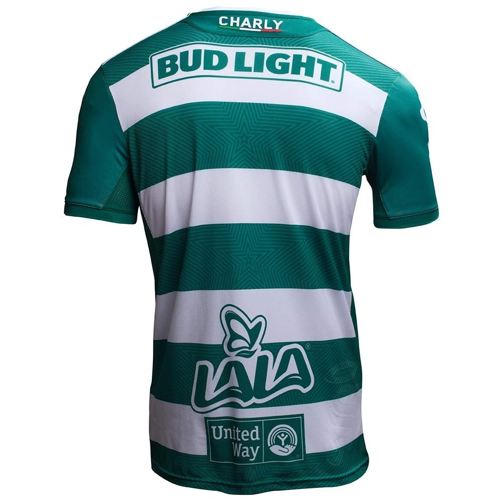 best sneakers 6e984 22143 charly Men's Santos Laguna Home Jersey 18-19
