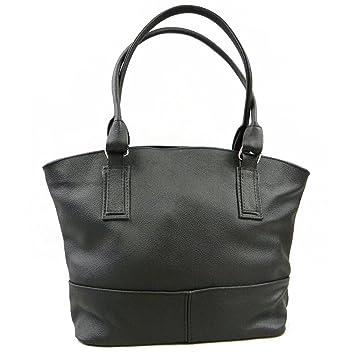 ADA'MIAK® AMBIENTE, Cuir naturel Sac à main pour femme noir sac à bandoulière épaule …