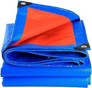 Addensare Stoffa antipioggia esterna, telone impermeabile per protezione solare, Protezione antisporco Telo per tetto, camion Canopy Oil canvas Insulation (colore : Blu, dimensioni : 3 * 6m)