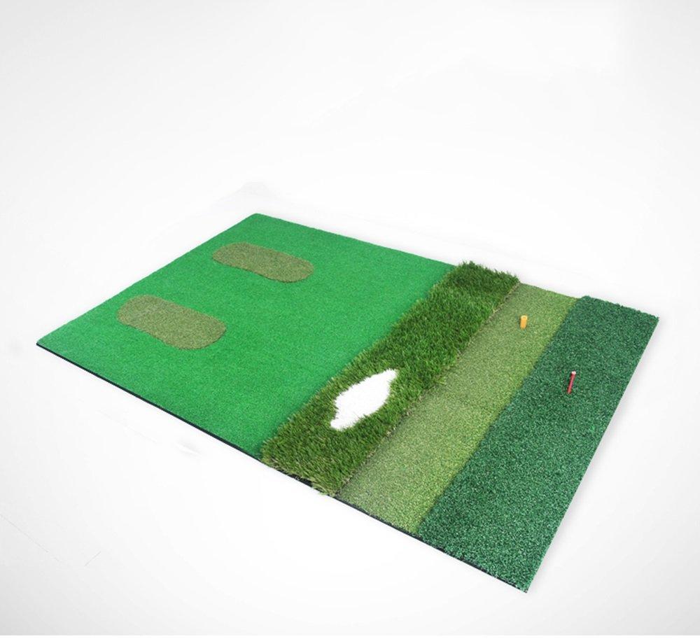 Yxsdプロフェッショナルゴルフマットマルチエリアラグ、多機能ドライビングと欠け練習用ゴルフストライキングパッド、100cm * 150cm B07L3FZ28G