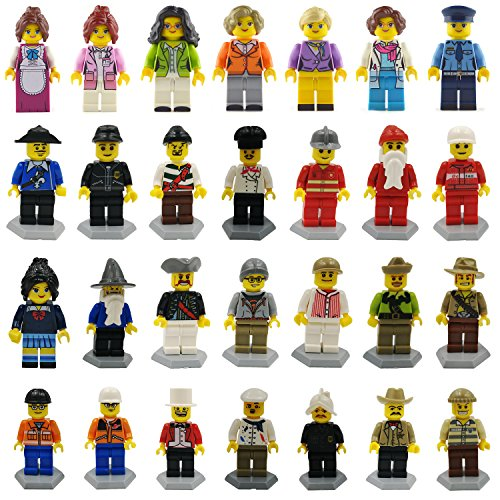 Minifigures set 28 Army Soldier Corps with Military Weapons Accessories Navy Soldier Minifigures Toys Building Blocks 100% Compatible (toys 28)