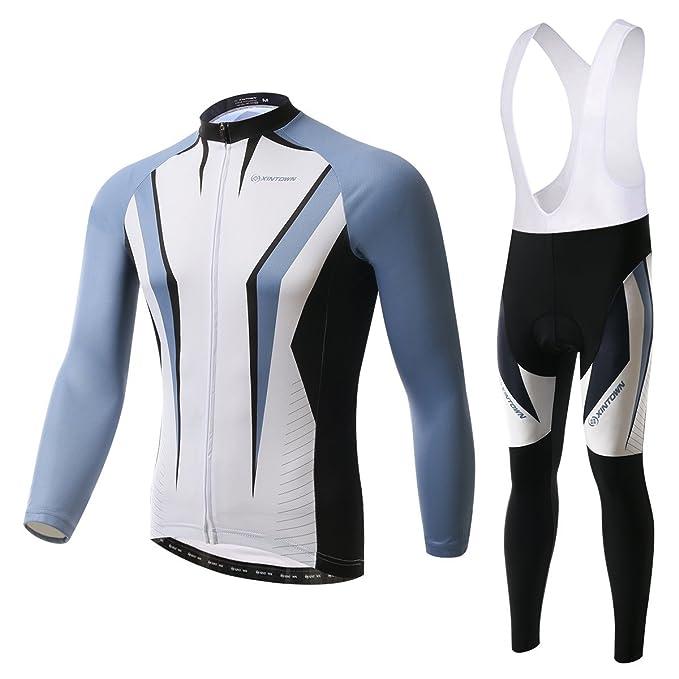 Amazon.com: BESYL - Conjunto de ropa de ciclismo unisex de ...