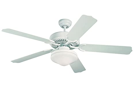 Monte Carlo 5WF52WHD-L Weatherford Deluxe 52-Inch 5-Blade Outdoor Ceiling  Fan - Monte Carlo 5WF52WHD-L Weatherford Deluxe 52-Inch 5-Blade Outdoor