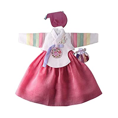 Hanbok Korea Traditional Girls Babies Dress First Birthday Party 1 Age DOL hg230: Clothing