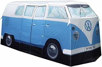 Amazon vw volkswagen t1 camper van adult camping tent blue vw volkswagen t1 camper van adult camping tent blue multiple color options available thecheapjerseys Choice Image