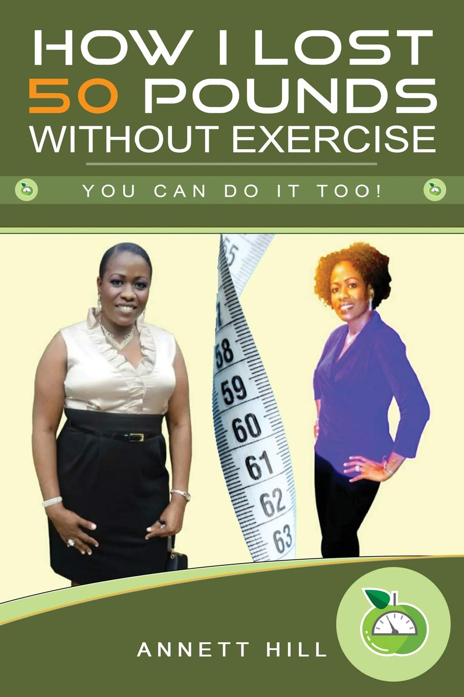 How I lost 50 Pounds without Exercise: You can do it too! 1