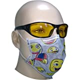 Filtra Disposable Air Pollution Face Mask with Activated Carbon 50 Pcs (Cartoon Design) TT-4TOONEM-AC