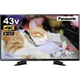 パナソニック 43V型 液晶テレビ ビエラ TH-43EX600 4K USB HDD録画対応 2017年モデル