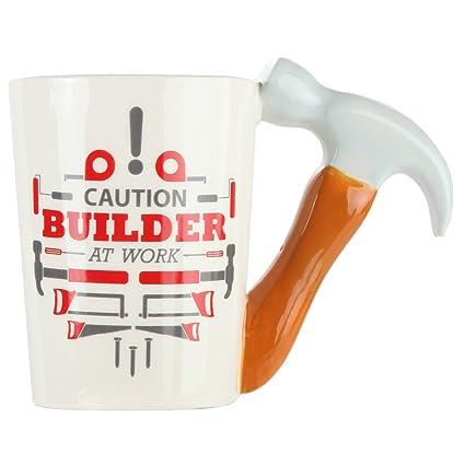 74101223fcd Hammer Handle Ceramic Coffee Mug. Novelty Coffee Mug with Tool Handle for  DIY Enthusiasts,