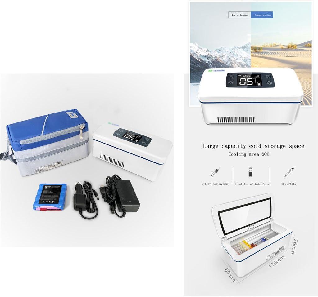 hj Refrigerador y Enfriador de insulina Adecuado para Viajes en ...