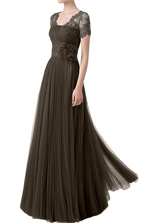 Abendkleider Royaldress Ballkleider Damen Brautmutterkleider Spitze MLGjVqSUzp