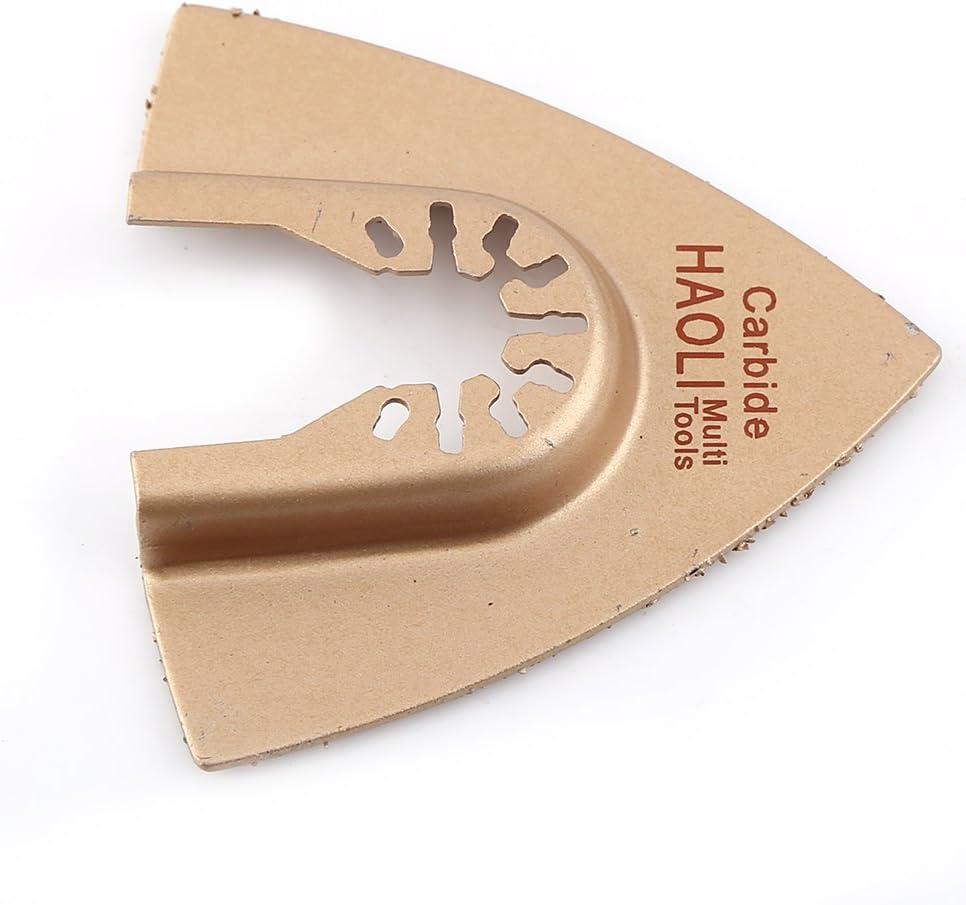 3.3*10.6cm-Black Hoja de Sierra Oscilante Madera Metal Hojas de Sierra de Liberaci/ón R/ápida Multifunci/ón Craftsman Tool Accesorio