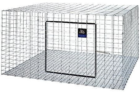 Amazon.com: Little Giant30 inch X 30 inch X 16 inch Rabbit Hutch ...