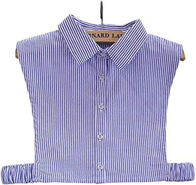 BASSK - Accesorios para ropa de camisa de moda para cuello y camisa desmontable 2 1: Amazon.es: Ropa y accesorios