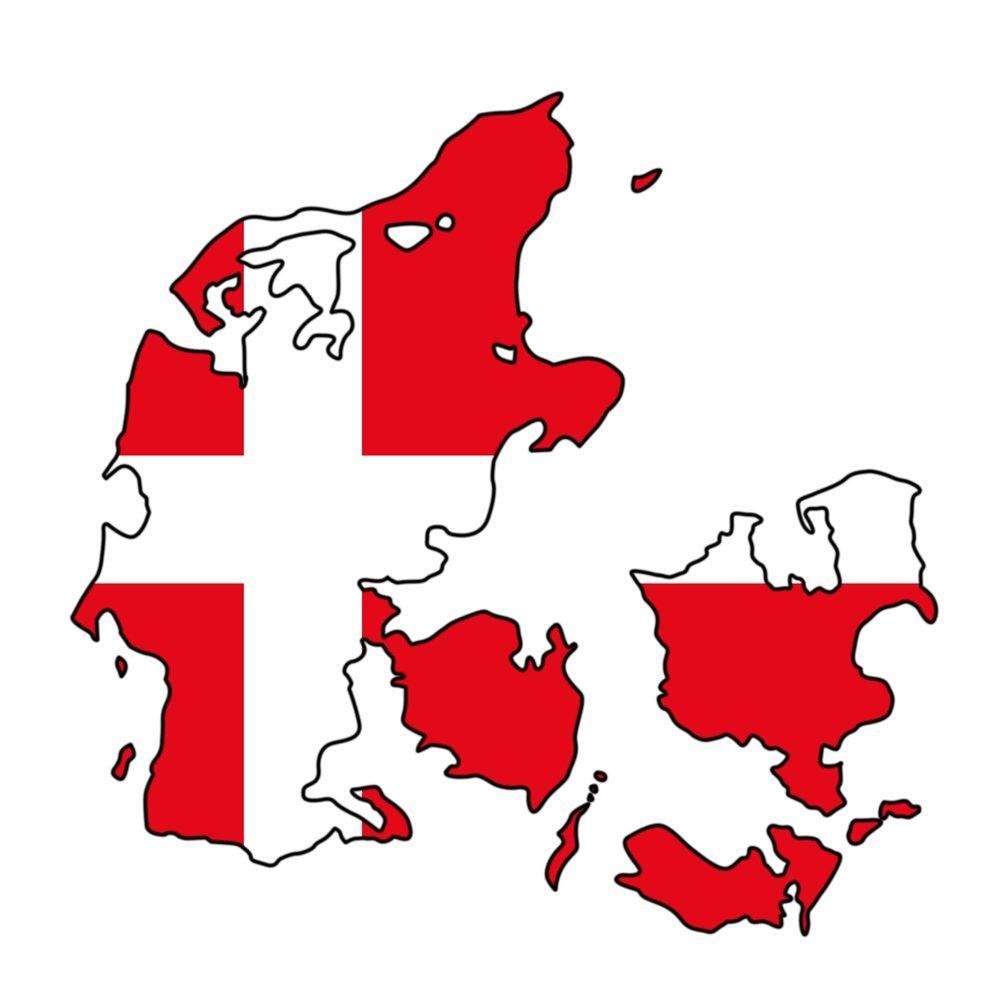 Auto Aufkleber - Dänemark