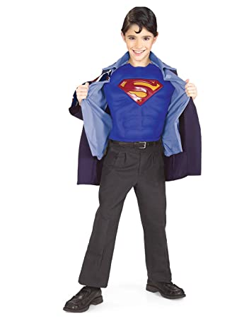 Superman Returns Costume Kids Clark Kent Outfit Large Age 8 - 10  sc 1 st  Amazon UK & Superman Returns Costume Kids Clark Kent Outfit Large Age 8 - 10 ...