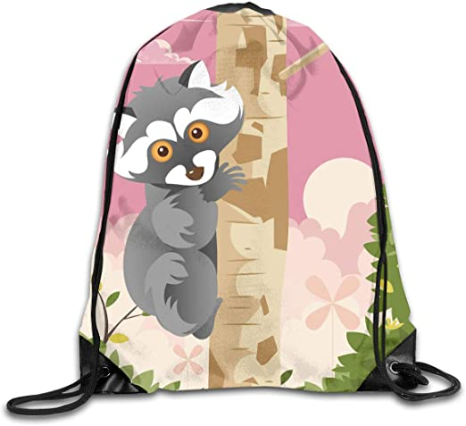 CoolStuff Travel Shoe Bags,Strange Tree Drawstring Backpack Hiking Climbing Gym Bag,Large Big Durable Reusable Polyester Footwear Protection