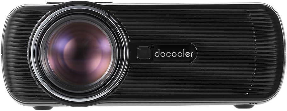 Docooler BL-80 LED Proyector LCD 1080P Proyector de vídeo de cine ...