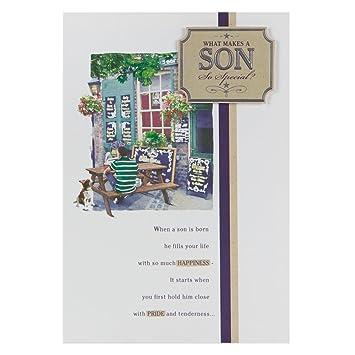 Hallmark Birthday Card For Son Love Will Grow And Grow Medium