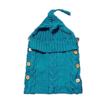 Bébé sac de couchage NWYJR Gigoteuse laine manuel doux Cosy Anti coup chaud pieds bébé literie Swaddle Wrap Pack adapté aux nouveaux-nés