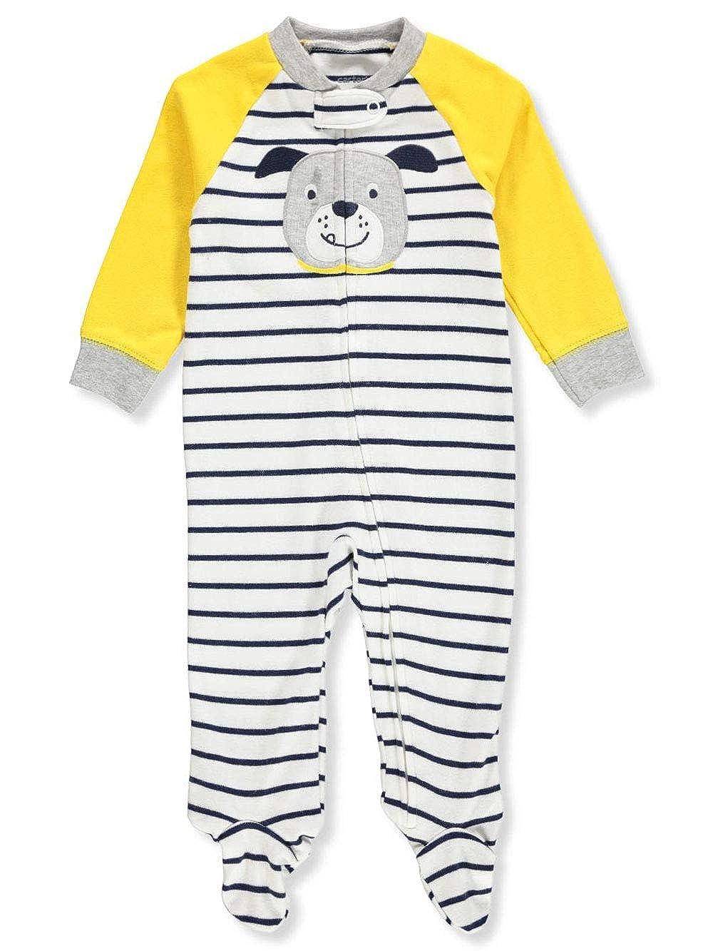 Carters Baby Boys Dinosaur Zip-Up Cotton Sleep /& Play