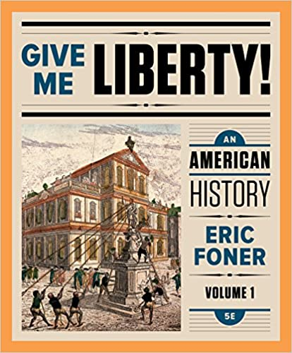 Amazon give me liberty an american history fifth edition amazon give me liberty an american history fifth edition vol 1 ebook eric foner kindle store fandeluxe Image collections