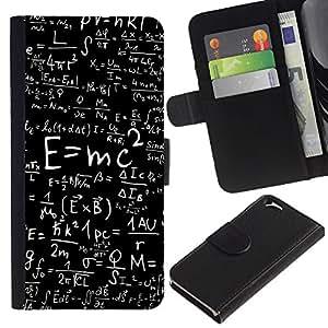 eJoy---La carpeta del tirón la caja de cuero de alta calidad de la PU Caso protector - Apple iPhone 6 - --Energy Formula;