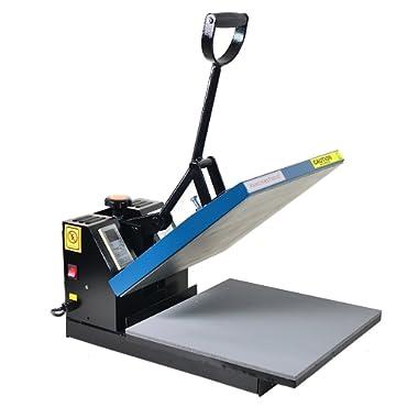 Fancierstudio Power Heat press Digital Heat Press 15 x 15 Sublimation Heat Press Rhinestone Heat Press T-Shirt Heat Press 15x15 B/BLK