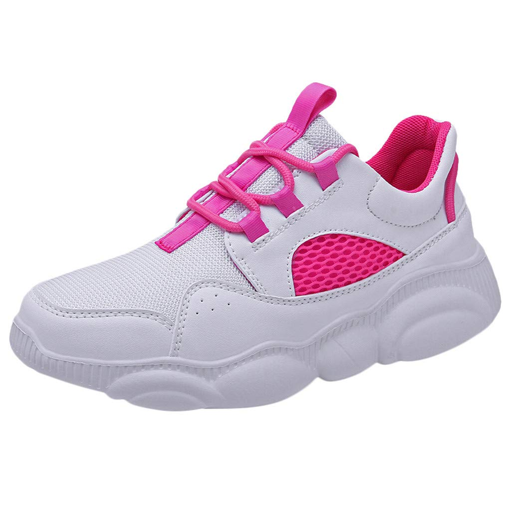 Zapatos de Pareja de Talla Grande de Malla Zapatillas Salvajes Salvajes Transpirables Deportivos, Huihong Zapatos Deportivos Casuales de Moda 2019