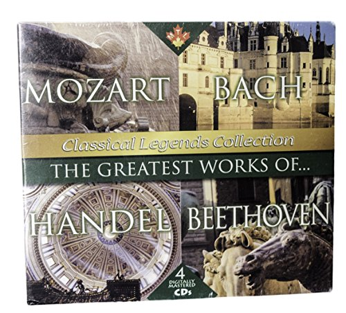 The Greatest Works of // Mozart, Bach, Handel and Beethoven: Classical Legends - Collection Bach