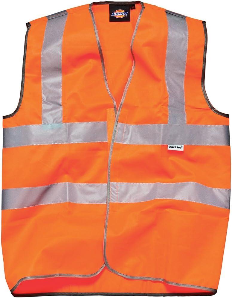 Dickies SA30310 OR XXL Hi Vis-Chaleco de seguridad talla 2XL color naranja