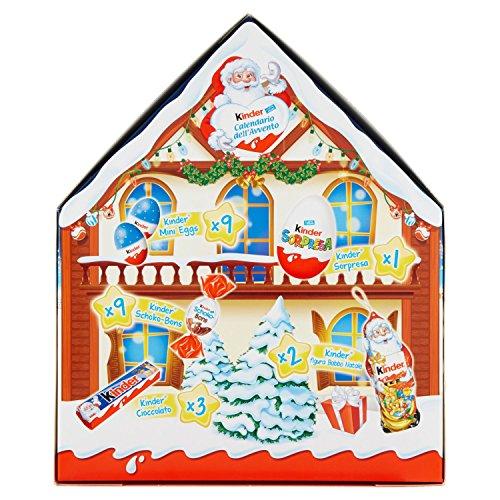 Calendario Avvento Kinder Prezzo.Kinder Calendario Avvento Appendibile Snack Al Cioccolato