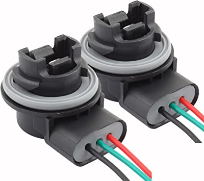 3157 socket wiring diagram amazon com tomall 3157 t25 bulb sockets female adapter for  tomall 3157 t25 bulb sockets
