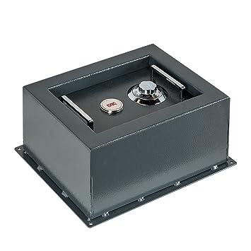 FAC 9081-AS - Caja fuerte para suelo (32x25x16cm): Amazon.es: Bricolaje y herramientas