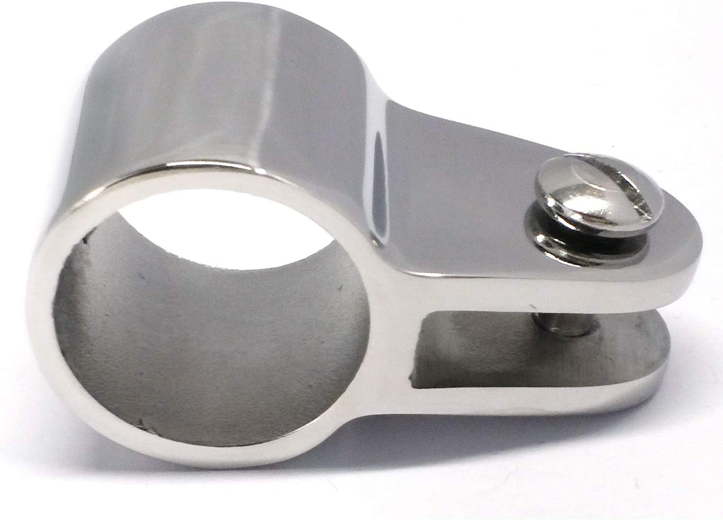 Pair of Marine Grade 316 SS 7//8 I.D.Bimini Top Jaw Slide Boat Hardware Fitting for 7//8 22.2mm Round Tube