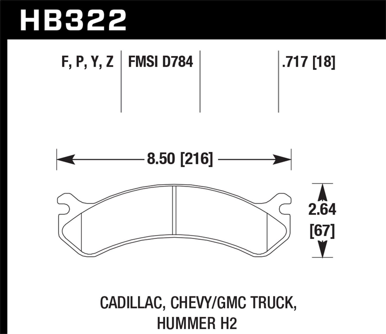Hawk Performance HB323P.724 SuperDuty Brake Pad