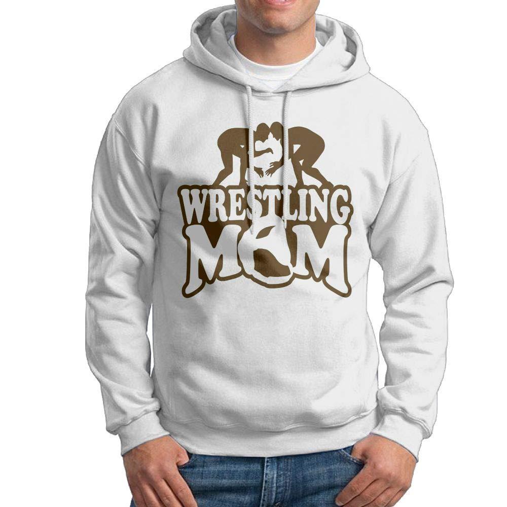 Wrestling Mom 2 Hooded Sweatshirt Novelty Pullover Hoodie for Male